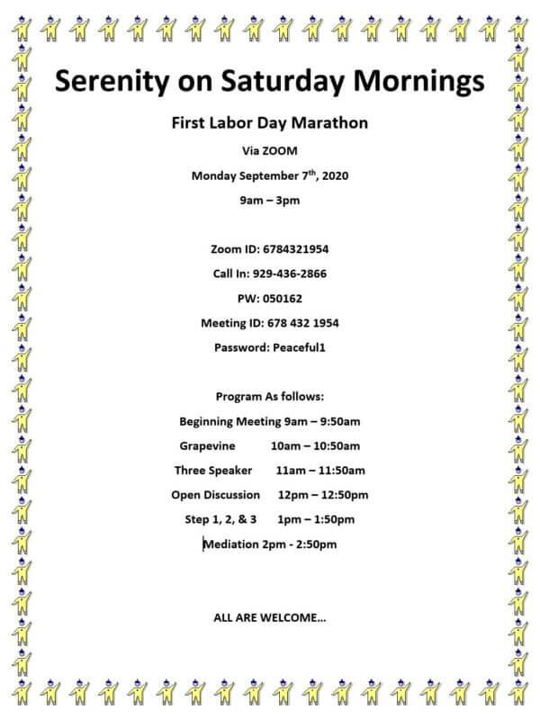 Invitation: Labor Day Marathon NYC